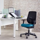 eternal diamond range mesh back task chair