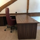 Regents desking range Crown American Walnut