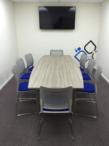 Another office installation from Diamond Office Furniture