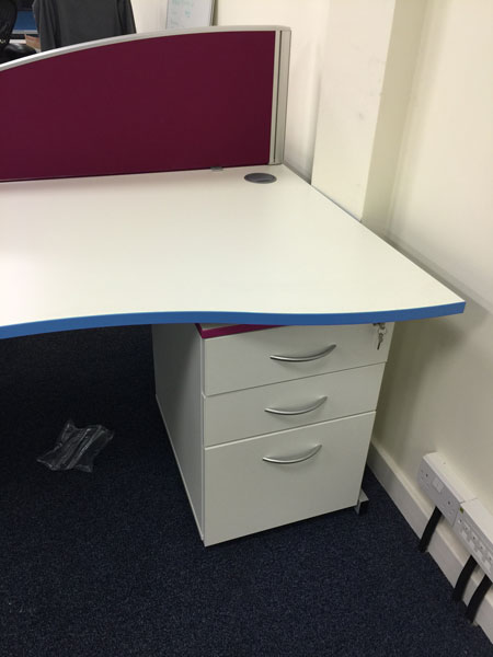 Need your office furniture in your company colours?