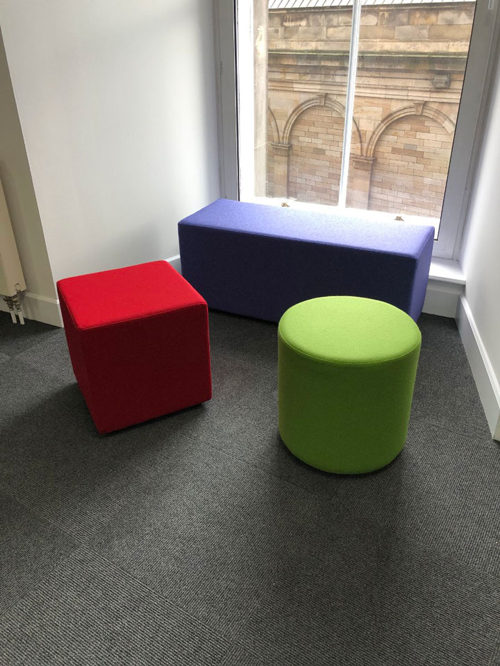 Breakout area seating for call centre