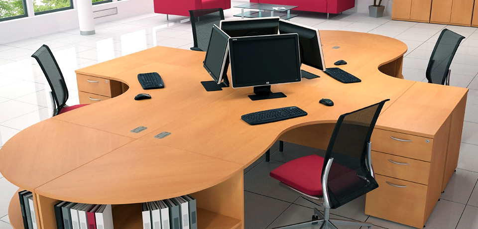 office desking standard ranges