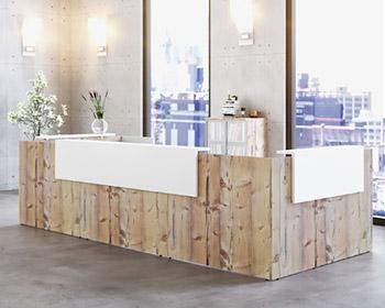 French Reception Diamond Office Furniture Range