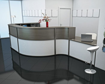 Gabrielle Diamond Reception Office Furniture Range