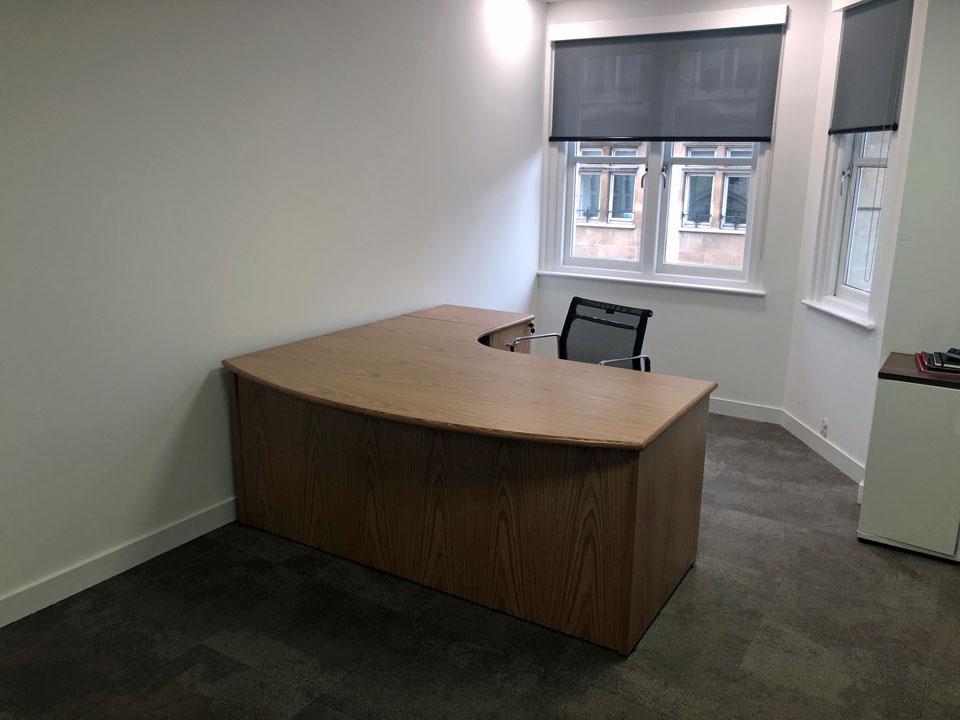 bespoke wooden office executive desks