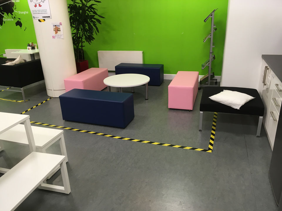 new furniture for call centre Edinburgh