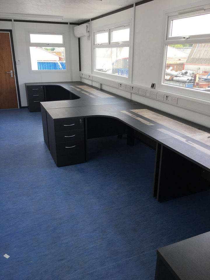 Office Furniture Installed In