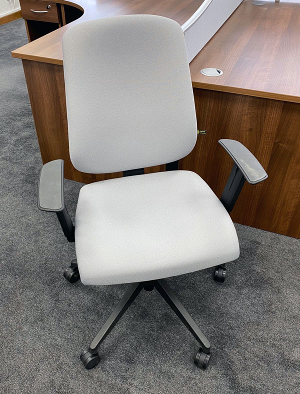 Used grey Office chairs
